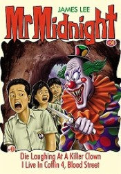 Mr Midnight #50 - Die Laughing At A Killer Clown / I Live In Coffin 4, Blood Street - paperback, fiction, pre-owned, 125 pages