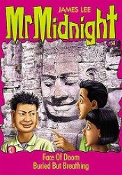 Mr Midnight #58 - Face Of Doom / Buried But Breathing - paperback, fiction, pre-owned, 127 pages