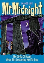 Mr Midnight #59 - The Circle Of Death  - paperback, fiction, pre-owned, 123 pages