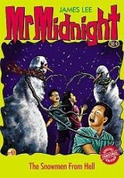 Mr Midnight #4 - The Snowmen From Hell - paperback, fiction, pre-owned, 126 pages