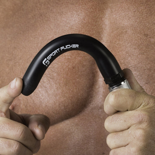 Locker Room Hose Black 9in Black-Sport Fucker-Alt Lifestyle Online Adult Sex Toy Store AU