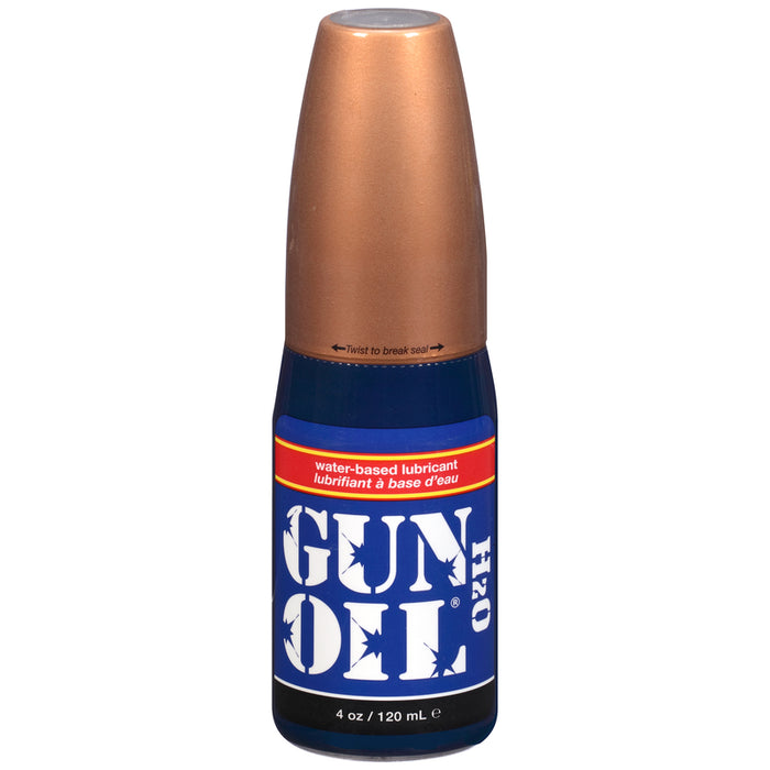Gun Oil H2O 4oz/120ml Flip Top Bottle-Gun Oil-Alt Lifestyle Online Adult Sex Toy Store AU