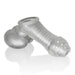 Sackjack Wearable Jackoff Sheath Clear Frost-OxBalls-Alt Lifestyle Online Adult Sex Toy Store AU