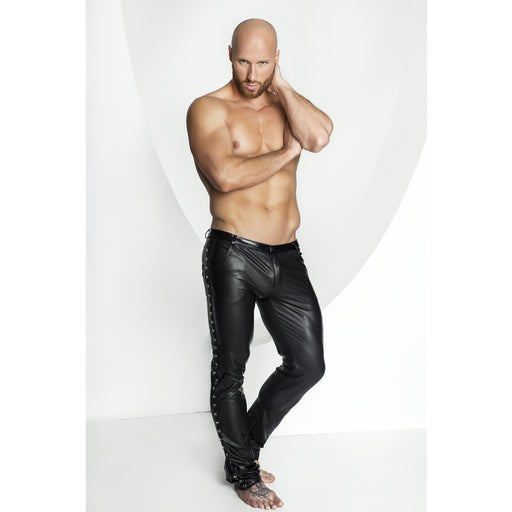 Sexy Unique Long Pants Black Extra Large-Noir-Alt Lifestyle Online Adult Sex Toy Store AU