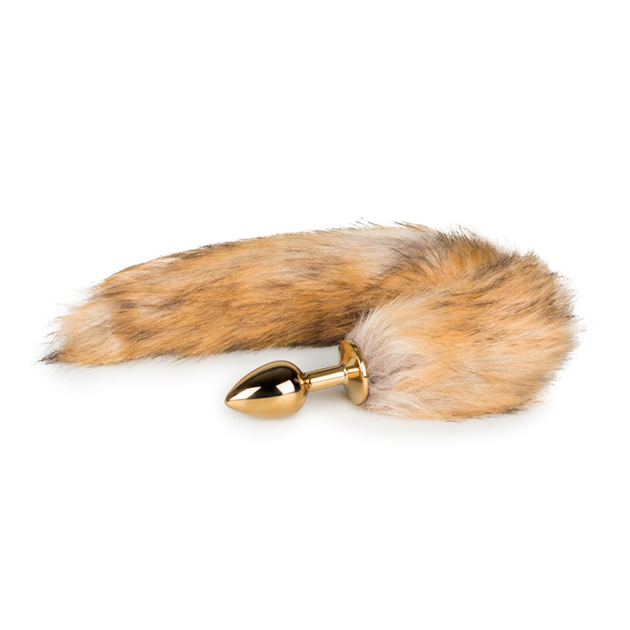 Fox Tail No. 1 - Gold Plug - Alt Lifestyle Online Sex Toy Store Australia