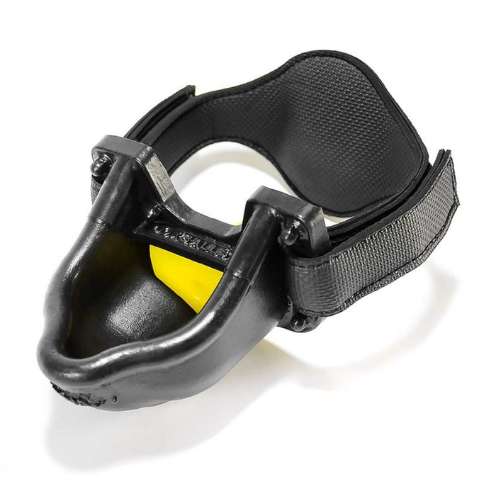 Urinal Gag Black/Yellow-OxBalls-Alt Lifestyle Online Adult Sex Toy Store AU