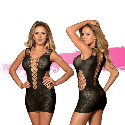 Ashella Lingerie Melina Dress O/S-AAPD-Alt Lifestyle Online Adult Sex Toy Store AU