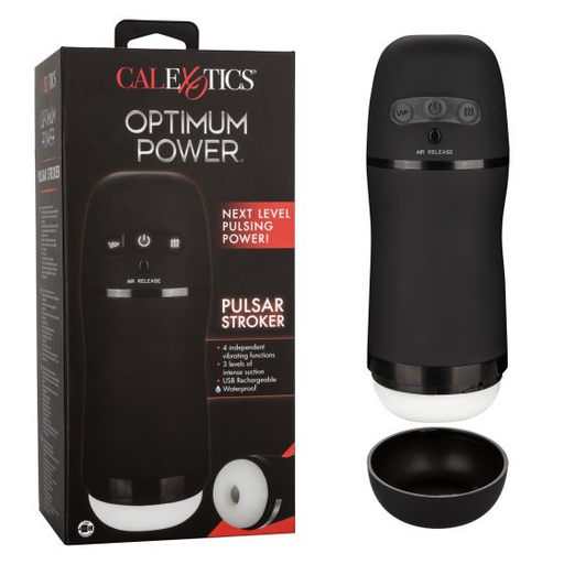 Optimum Power Pulsar Stroker - Alt Lifestyle Online Sex Toy Store Australia