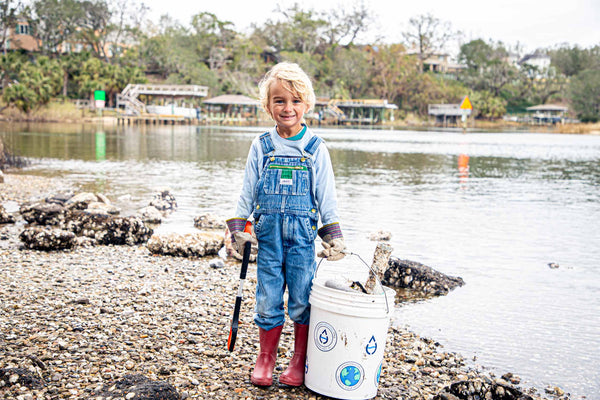 Making a difference starts with me.  Oliver is a tiny little environmentalist and he is making an impact.