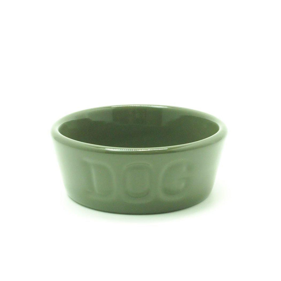 BAUER POTTERY/ DOG BOWL Sサイズ シイタケ