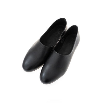 evam eva/ leather slipon/black(90)