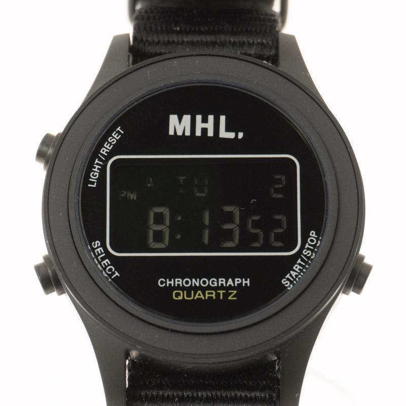 MHL. / DIGITAL WATCH col.BLACK