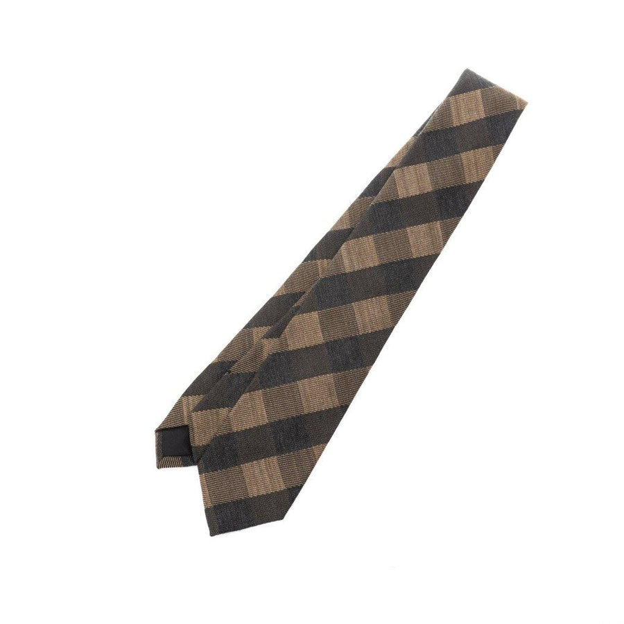 MARGARET HOWELL/ OVERSIZED GINGHAM TIE