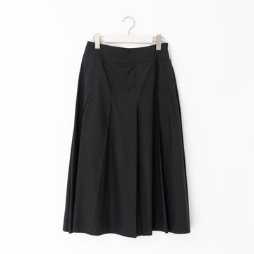 MARGARET HOWELL / SILK COTTON POPLIN col.BLACK
