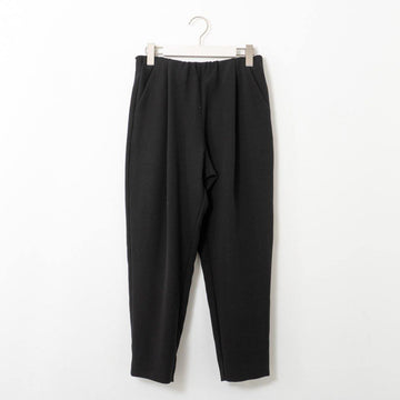evam eva/ cotton narrow tuck pants/col.black/size1