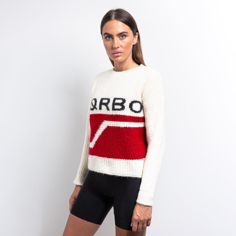Meteor Cropped Knit Sweater