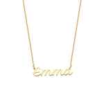 Luna Name Necklace gold