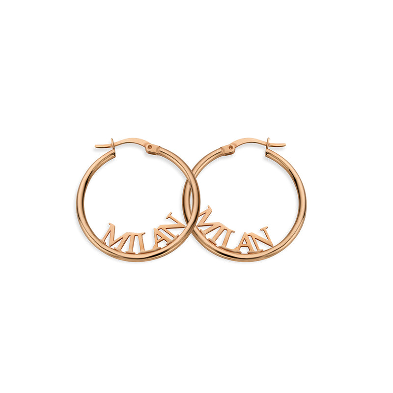 Signature Earring rosé gold