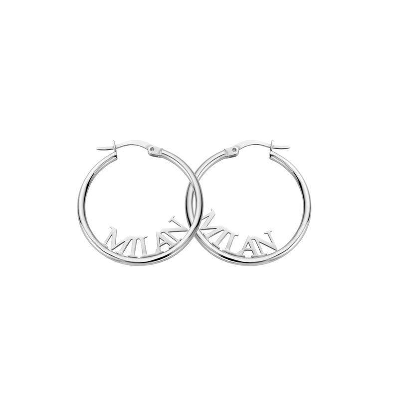 Signature Earring silver