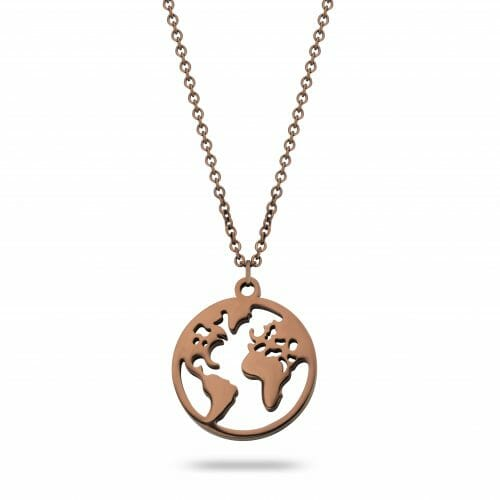 World necklace coffee