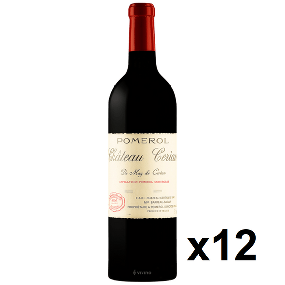 OKiBook - Chateau Certan de May 2005, Pomerol, Bordeaux, France - 750ml [12 bottles]