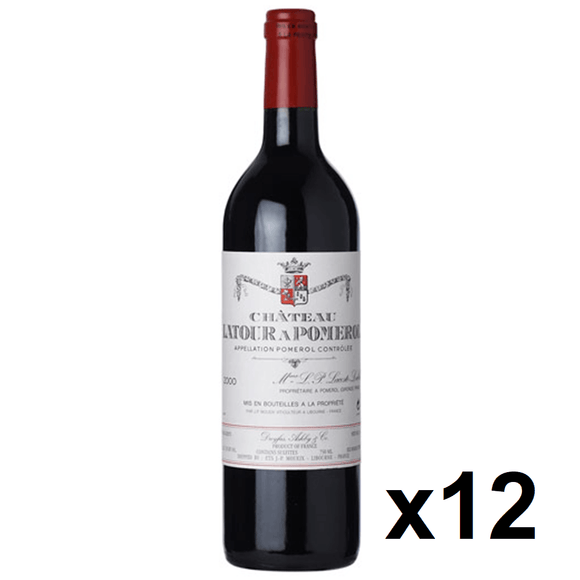 OKiBook - Chateau Latour A Pomerol 2005, Pomerol, Bordeaux, France - 750ml [12 bottles]