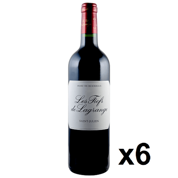 OKiBook - Les Fiefs de Lagrange 2007, St Julien, Bordeaux, France - 750ml [6 bottles]
