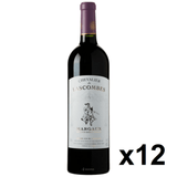 OKiBook - Chevalier de Lascombes 2012, Margaux, Bordeaux, France - 750ml [12 bottles]