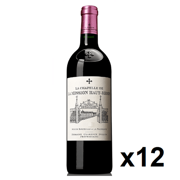 OKiBook - La Chapelle de La Mission Haut Brion 2006, Graves , Bordeaux, France - 750ml [12 bottles]