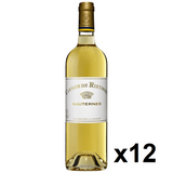 OKiBook - Carmes de Rieussec 2009, Sauternes, Bordeaux, France - 750ml [12 bottles]