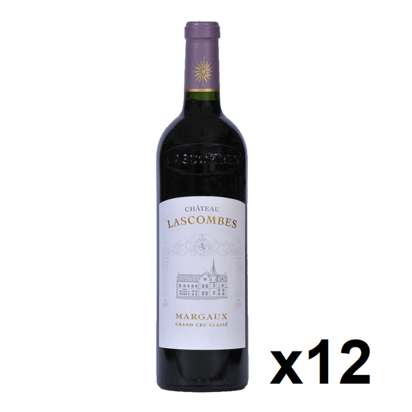OKiBook - Chateau Lascombes 2014, Margaux 2eme Cru, Bordeaux, France - 750ml [12 bottles]