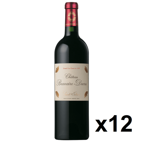 OKiBook - Chateau Branaire Ducru 2010, St Julien 4eme Cru, Bordeaux, France - 750ml [12 bottles]