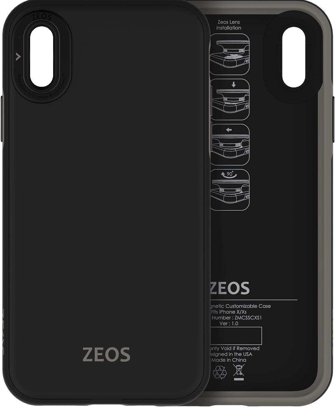 ZEOS 3 in 1 Battery Case for iPhone SE