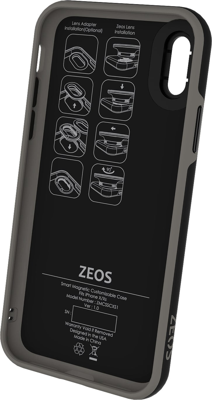 ZEOS 3 in 1 Battery Case for iPhone 8
