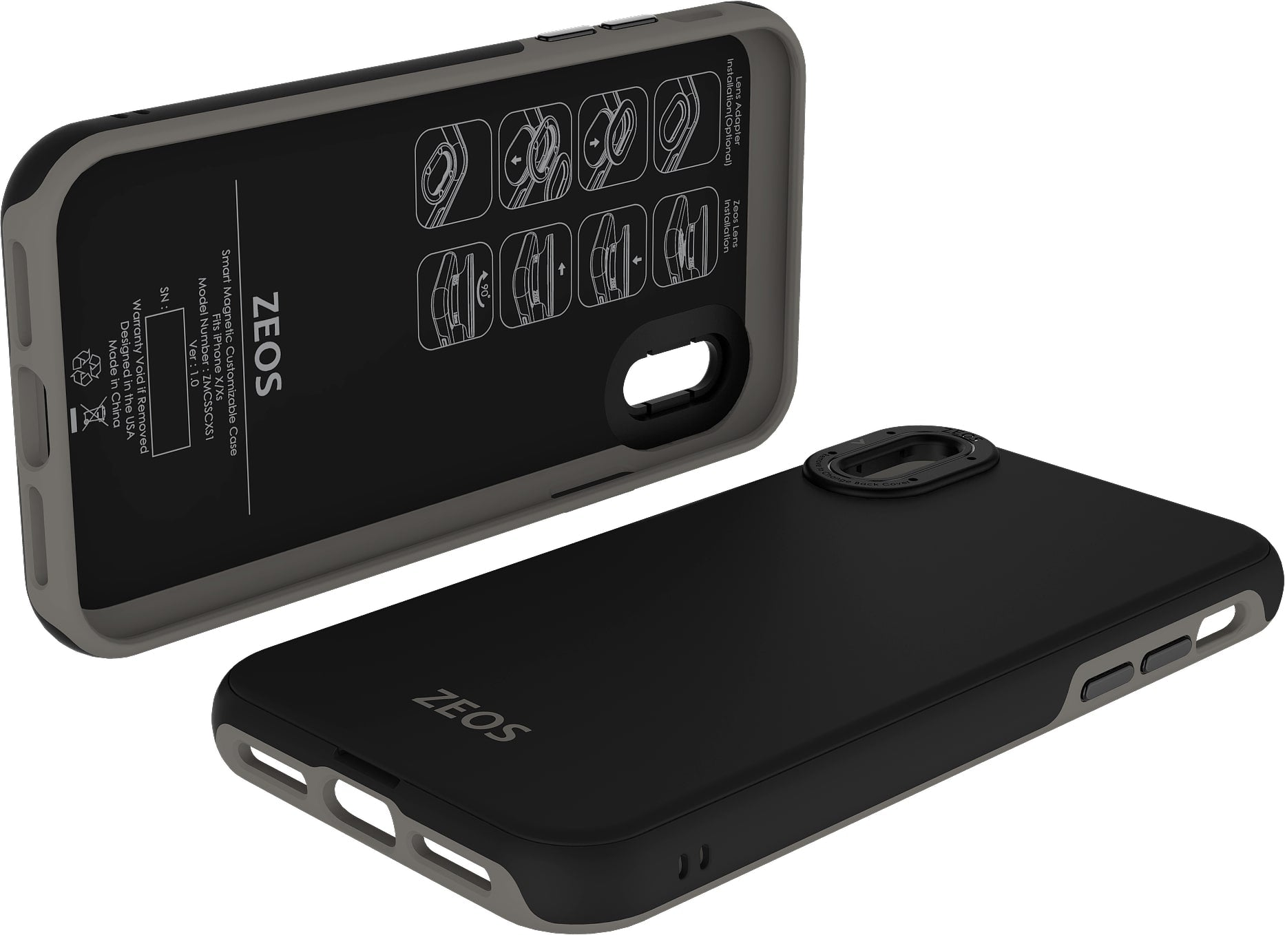 ZEOS Smart Magnetic Customizable Case