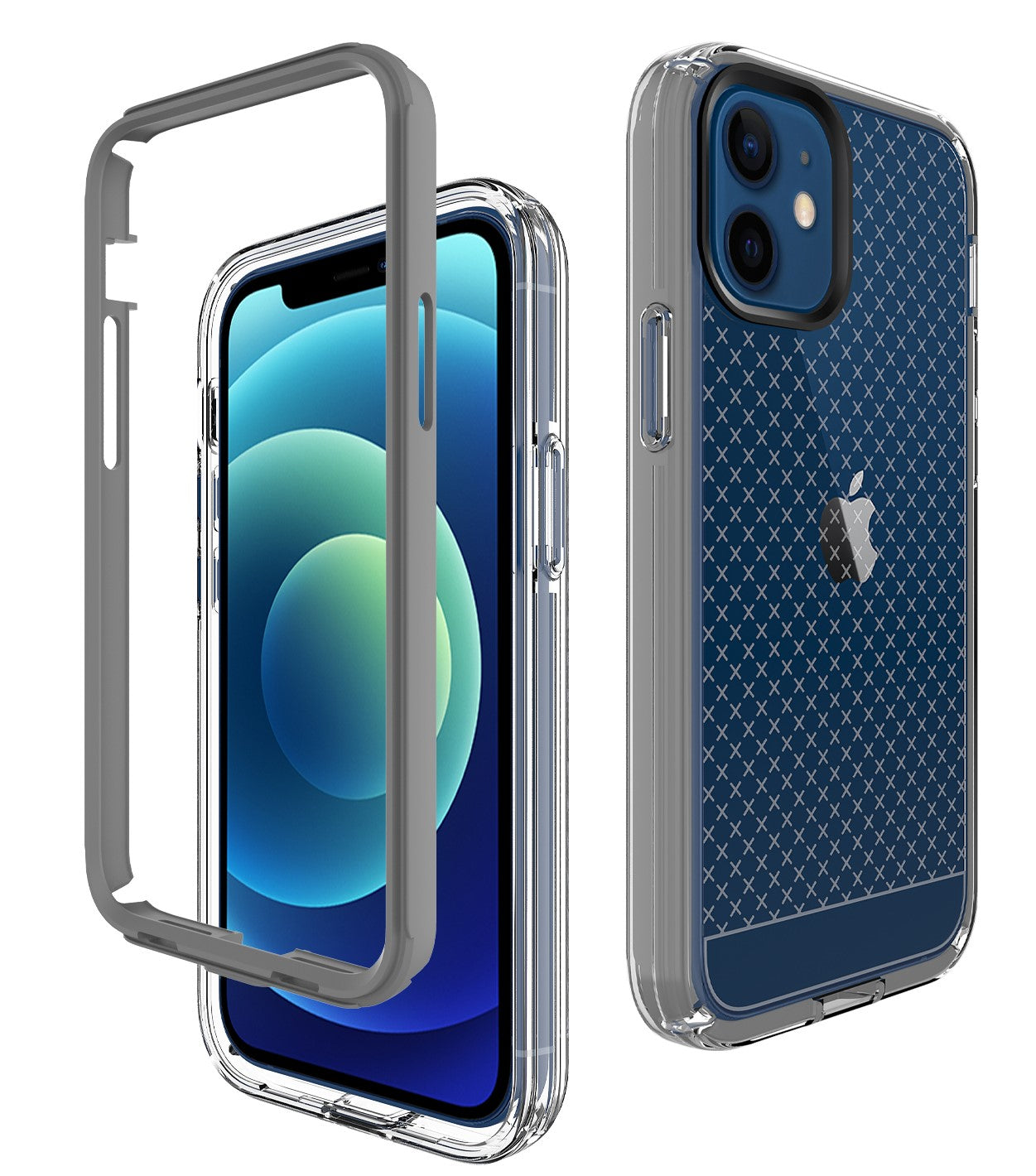 ZEOS Klarity-XT Clear Case for iPhone 12 Pro