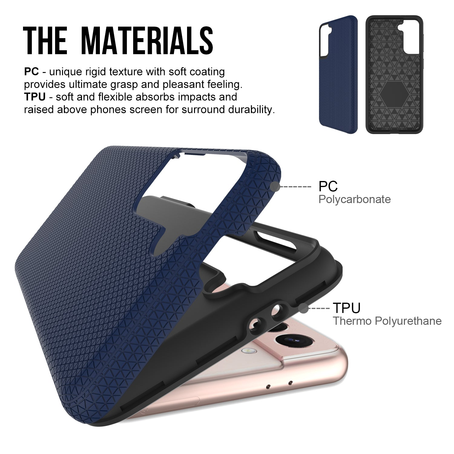 ZEOS Sphinx Dual Layer Case for Samsung Galaxy S21 Plus