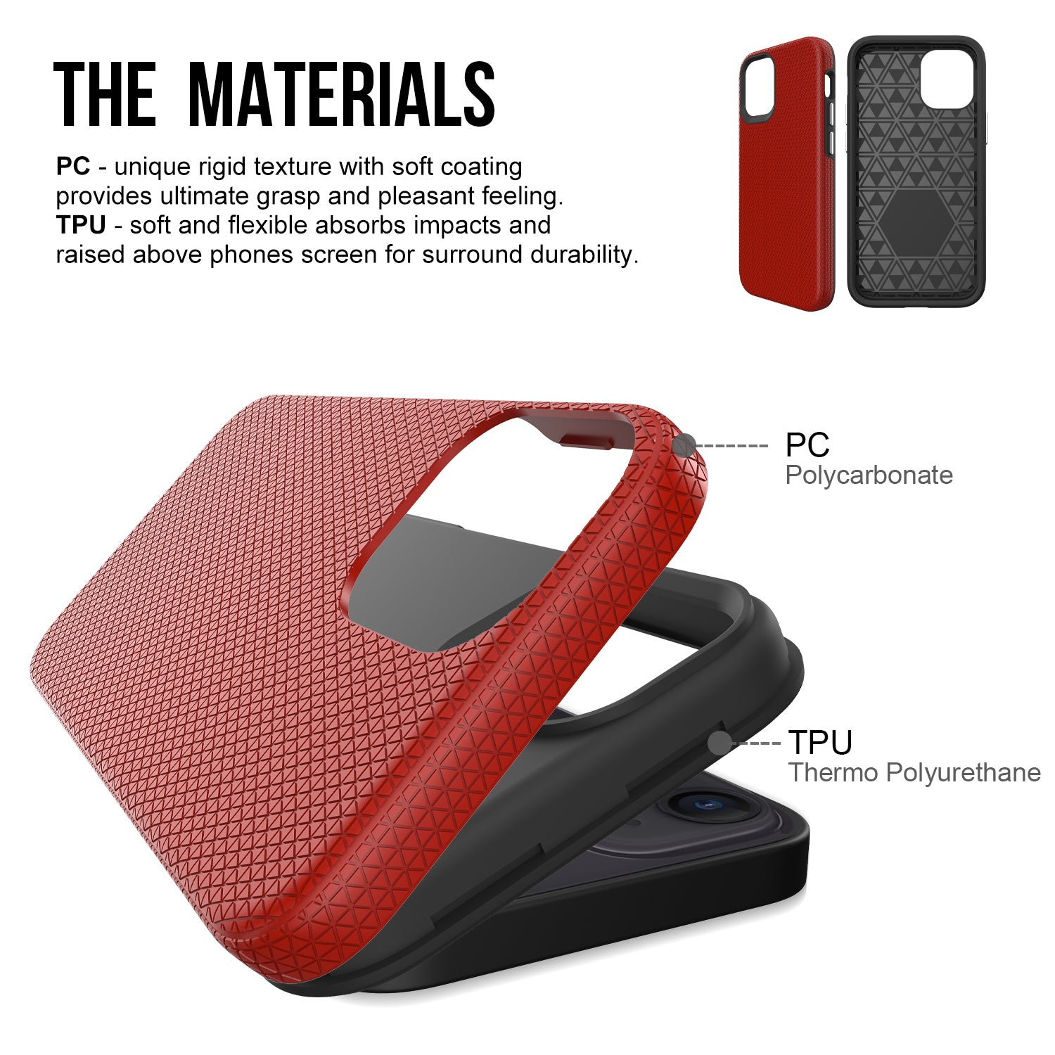 ZEOS Sphinx Dual Layer Case for iPhone 12 Mini