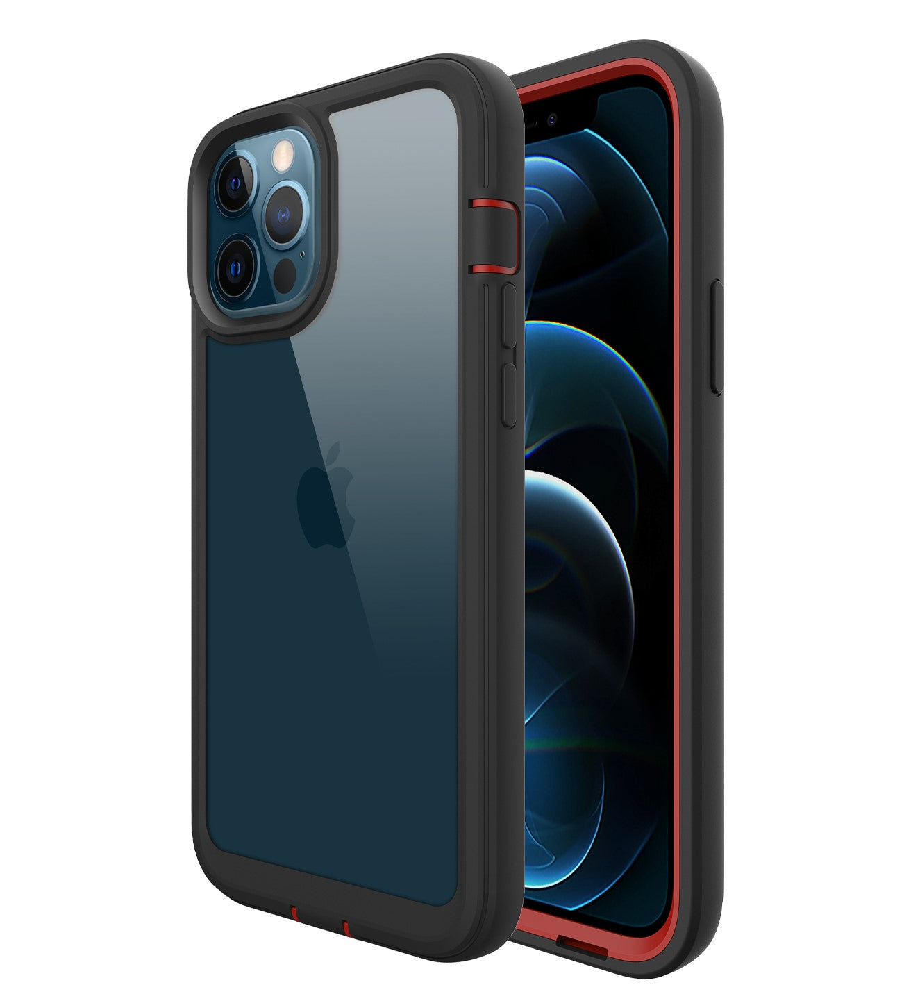 ZEOS Terrain Clear Case for iPhone 12 Pro Max