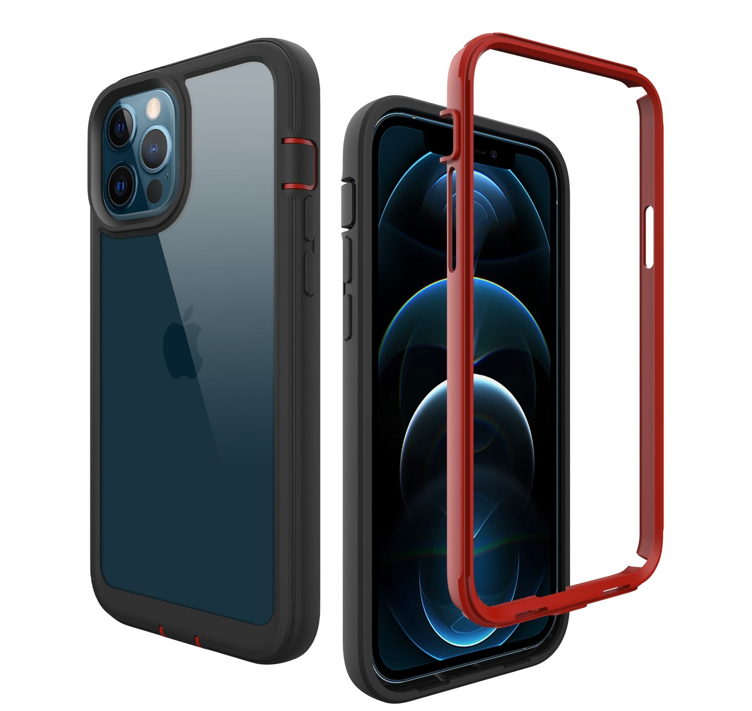 ZEOS Terrain Clear Case for iPhone 12