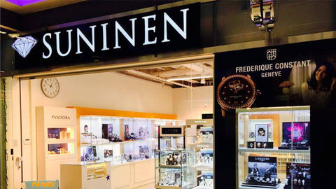 Suninen, one of the official retailers for Voutilainen x Leijona watches