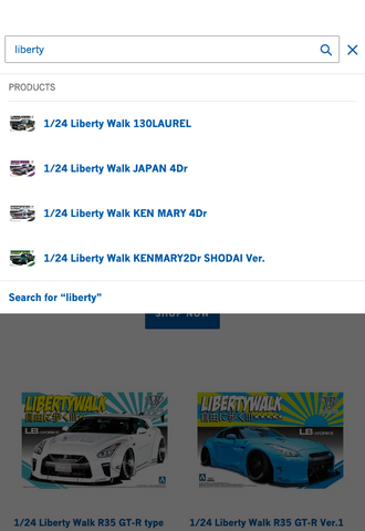 Use Search Function - Aoshima.Store