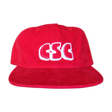 Load image into Gallery viewer, Corduroy OG Logo 6 Panel (Red)