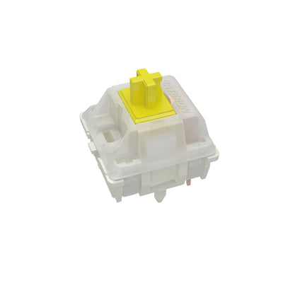 Gateron Yellow Switches (Full Milky / Milky Top) | Kibou.store