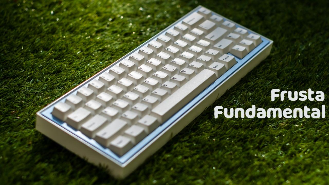 Frusta Fundamentals: 65% Keyboard by PicoLab | Kibou.store