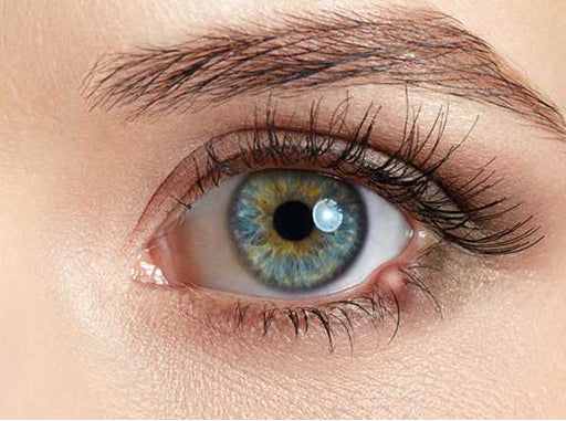 Close up of an eye with a stye