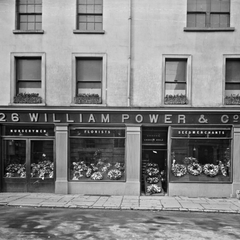 William Power & Co florist Waterford