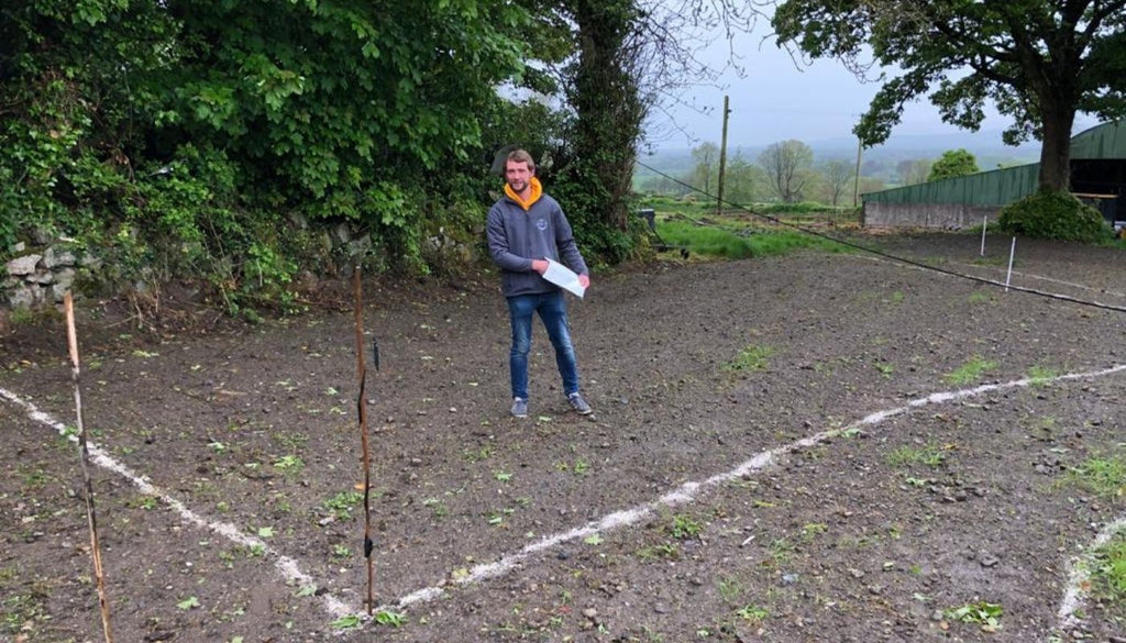 Sowing Wildflower Seeds in Paul Smyths garden with Diarmuid Gavin