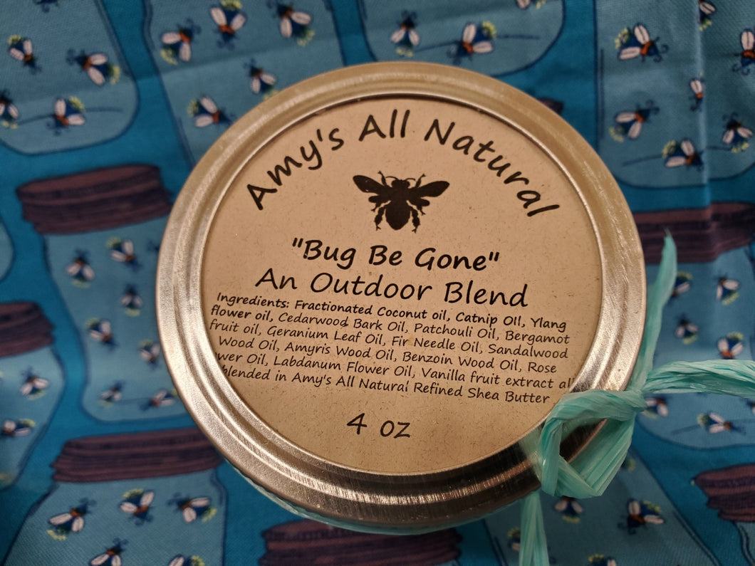 Bug Be Gone Shea Butter 8oz jar