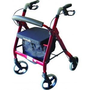 Rollator - Push Button Height Adjustable Handles (BRO204-Z)
